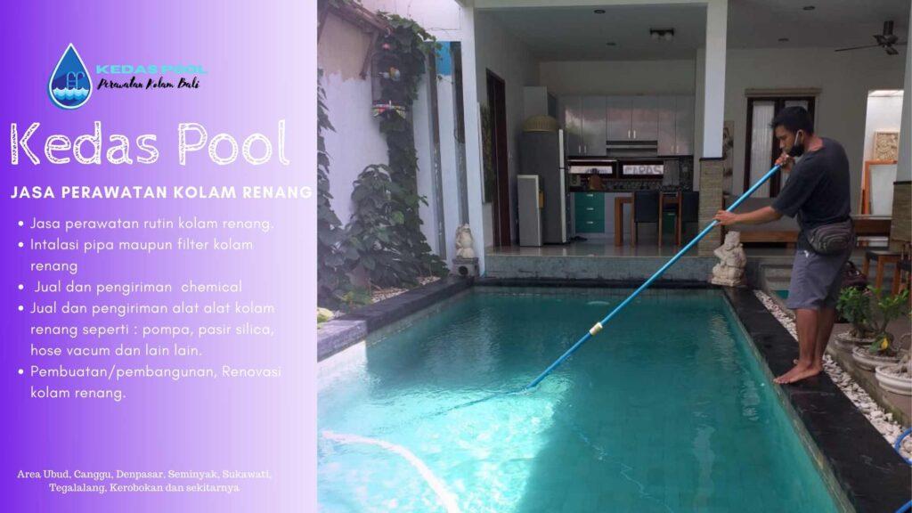 jasa perawatan kolam renang Bali ubud